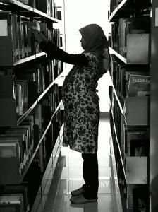 Saya pustakawan